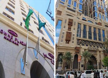 Crown Plaza Madina & Hyatt Regency Makkah 2018
